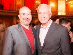 Chicago Dancers United Executive Director Anthony Guerrero and Chicago Dancers United Board Member Kevin McGirr
