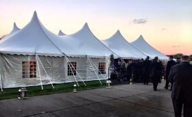 The HUGE tent!