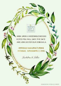 Save the Date Wish Upon a Wedding