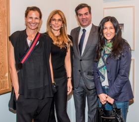 Liz Lefkofsky, Lesley Bluhm, James Rondeau and Nancy Yin