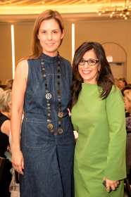 Melissa Skoog and Maria Pinto