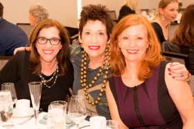 Priscilla Barlow, Anne Frances Bleecker and Liz Sharp