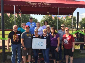 A very small turnout for my class of 1972 but happy to see everyone!