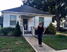 My childhood home at 325 Louisa Ave., now owned by Cathy Roy