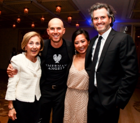 Jane Imerman, Jonny Imerman (Imerman Angels Founder), Jessica Chae and Jeff Imerman
