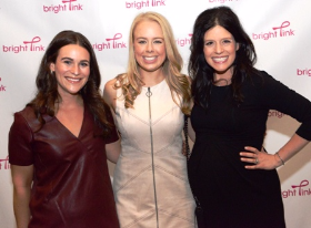 Katie Tetrick, Mel Speaker and Lindsay Avner (Bright Pink founder)