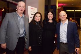 Brett, Wendy and Lindsay Avner with Gregg Kaplan