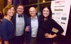 Gail and John Thomason, Gregg Kaplan and Lindsay Avner