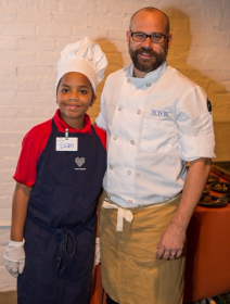 Small Thread Evan with Chef