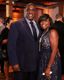 Lawndale Community Academy Principal Willard Willette and wife Dervita