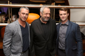 Taylor Kinney, Dick Wolf and Jesse Spencer