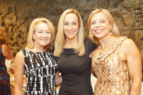 Kim Gleeson, Gabrielle Weisberg and Karen Peters
