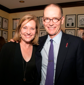 Mary Beth Fisher and Executive Director Roche Schulfer