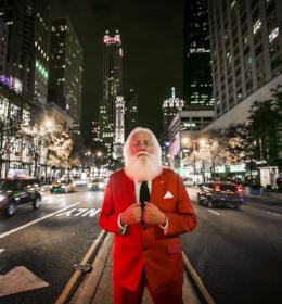 Santa centered