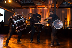 The talented drummers from ?
