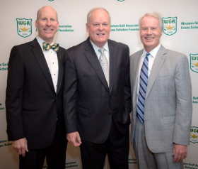 David Robinson, Johnny Miller and Mark Rolfing