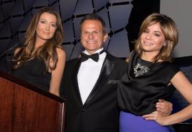 Hosts Anna Davlantes, Lou Canellis and Susanna Homan