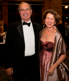 Karen Harrison and Walter Freedman (board members)