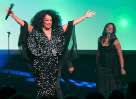 Diana Ross thrilled the CUL audience!
