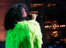 Headliner Diana Ross enchants the crowd