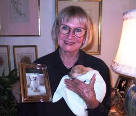 Animal advocate Bernice Pink