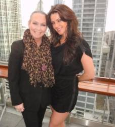 With Crystal McCahill (Miss May 2009)