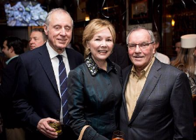 Steve and Peg Lombardo with former Mayor Rich Daley