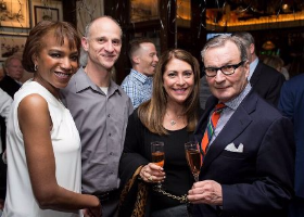 Roxanne Atkins, Jeff Harris, Cindy Fischer and owner Hugo Ralli