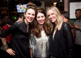 Sara Roberts, Liz Lombardo Stark and friend