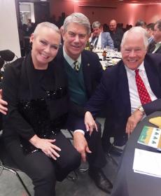 With Dr. Joe and Chuck Jordan