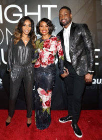 Michelle Williams, Gabrielle Union-Wade and Dwyane Wade