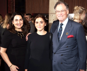 Susan and Joe Ahern with their beautiful daughter
