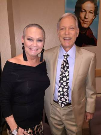With the forever young, Richard Chamberlain