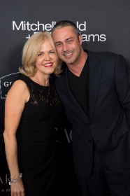 Elaine Doremus with ChicagoMOD cover star Taylor Kinney