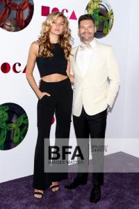 Shana Taylor and Ryan Seacrest