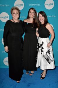 UNICEF USA President & CEO Caryl Stern  UNICEF USA Midwest Region Managing Director Beth McCostlin and UNICEF USA Vice President Region Casey Marsh