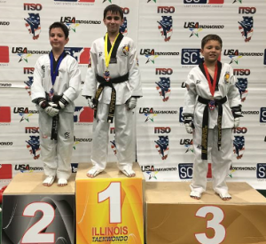 Xander Lawlor chocks up another GOLD, this time at the USAT IL State National Qualifiers!