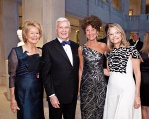 Shirley and Pat Ryan, Gloria Groom and Nancy Santi
