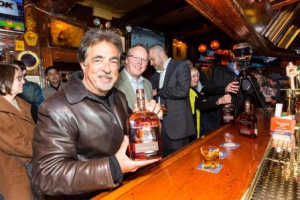 Mantegna and Woodford Reserve Distillery Kentucky Straight Bourbon--a winning combo