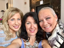 With Erica Strama and Debi Lilly