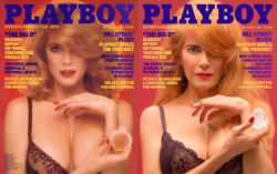 Charlotte Kemp--December 1982 Playmate