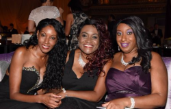 Shon Lowe, Theresa Montgomery and Stephanie Ortiz
