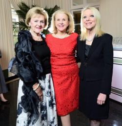 Connie Barkley, Peggy Snorf, and Leslie Zentner