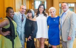 Nika Clark, Paul Lisnek, Brenda Arelano, Marley Kayden, Greg Hines and Dr. Sandy Goldberg