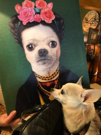 Rooney as Frida Kahlo. LOL!
