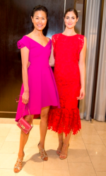 Models wearing fashions from Neiman Marcus