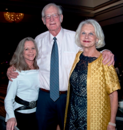 Patti Eylar, Charlie Gardner and Jocelyn Stoller