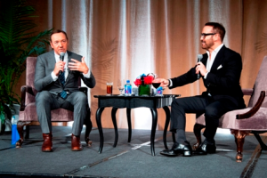 GSFC Renaissance Award honoree Kevin Spacey in conversation with Jeremy Piven