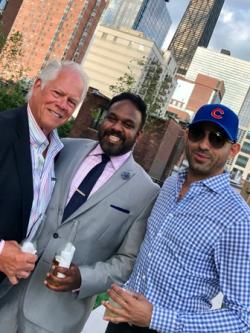 Chuck, Raj Sai and Marco Foster