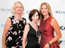 Jocelyn Stoller, Helen Melchior and Joan Colmar